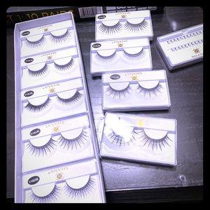 BNWT 10 pairs eyelash set